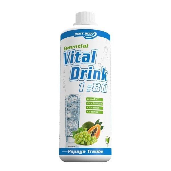 Best Body Nutrition - Essential Vital Drink, 1Liter
